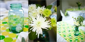 Our centerpieces, photos provided by Laura Ivanova